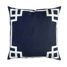 Navy Deco Pillow