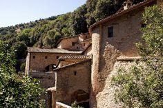 Die franziskanische Einsiedelei Eremo delle Carceri in Assisi
