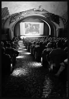 Chaplin and Edna Purviance in THE IMMIGRANT, on-screen at the Avalon Theatre at the Santa Catalina Island Casino. This 1917 classic Mutual 2-reeler was screened on May 11 at the Catalina Museum's Silent Film Benefit.