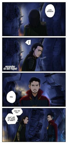 Part 1 - Infinity War - Loki and Strange
