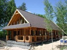 Log Cabin House Design Ideas Picture 1