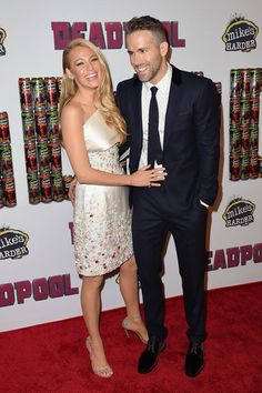 Coupled Up - Blake Lively and Ryan Reynolds' Cutest and Most Stylish Couple Moments - Photos