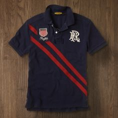 Rugby by Ralph Lauren USA Crest Polo