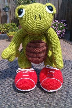 Schildpad zelf gemaakt