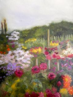 Summer Garden   DegreeArt.com The Original Online Art Gallery
