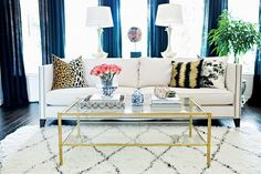Mix and Chic: Home tour- A designer's eclectic glam Houston home!