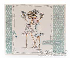 Handmade by Tamara: Uptown GALENTINE GIRLS