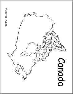 Worksheet. blank outline map of north america  Yahoo Canada Image Search