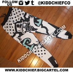 Crooks Legend Blue Joggers / Kidd Chief