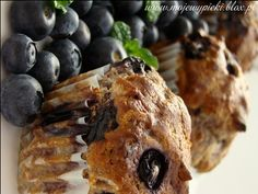 Muffiny jagodowe