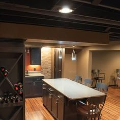 Unfinished Ceiling Design Ideas, Pictures, Remodel, And Decor   Page 5 ·  Unfinished Basement CeilingRustic ...