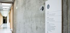 Wayfinding at BBZ Weinfelden by Koch Kommunikation