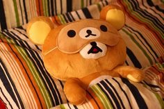 i actually got a bear like this in HK last time i was there... so incredibly cute!