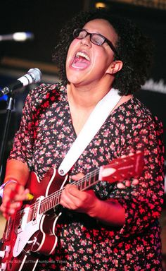 Brittany Howard of the Alabama Shakes