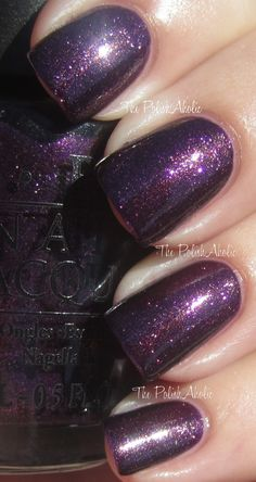 OPI Visions of Sugarplum. Just got and love:) great winter nail color