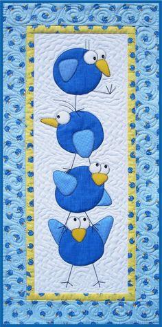 Meet the Tweets Quilt Pattern