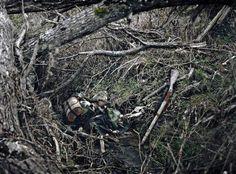 Les restes d'un soldats français tué sur le front ouest.