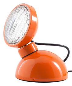christian girard + azimut industries: #orange 1969 table #lamp