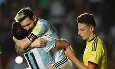 @AFA #Messi marca la diferencia ante Colombia #9ine Messi, Baseball Cards, Sports, Making A Difference, Colombia, Argentina, Hs Sports, Sport