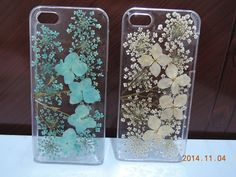 Pin for Later: 431 Truly Awesome Fashion Gifts For Everyone on Your List  Pressed-Flower Cases from Etsy ($13-$17)