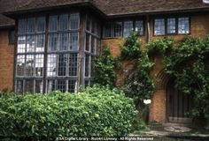 Jimmy Page's new home in Berskshire  - Exterior view - 'Deanery Garden', Sonning, England   KSA Digital Library