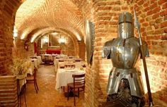 Bodega del Restaurante Los Galayos donde realizamos la cata