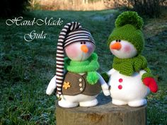 Amigurumi Patterns, Knitting Patterns, Christmas Diy, Christmas Ornaments, Christmas Characters, Christen, The Dreamers, Snowman, Clay
