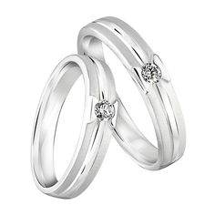 White Inexpensive Wedding Ring : How to Buy Inexpensive Wedding Ring Sets?   Wedding Idea   Wedcow.com