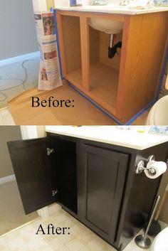 Top 10 Best DIY Bathroom Projects Bathroom need a face-lift? Check out the Top 10 Best DIY Bathroom Home Renovation, Home Remodeling, Bathroom Remodeling, Cheap Remodeling Ideas, Basement Bathroom, Bathroom Flooring, Master Bathroom, Bathroom Vinyl, Cheap Bathroom Remodel