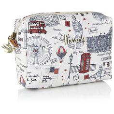Harrods Sketchy London Cosmetics Bag ... harrods.com....Too Cute!
