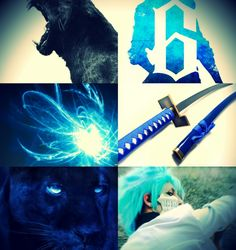 Grimmjow aesthetic collage