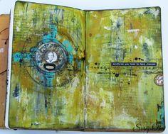 Scrapholka: Art Journal Stop Being Passive
