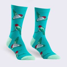 Sock It To Me - Hummingbird Socks (Womens) – GiantRobotStore