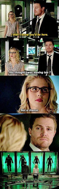 #Arrow #Olicity#Oliver x Felicity  #Schism
