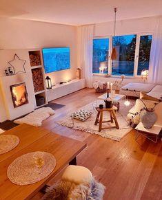 Living Room Candles, Living Room Decor, Living Rooms, Home Decor Inspiration, Living Room Inspiration, Modern Apartment Decor, Decoration Design, House Rooms, Cozy House