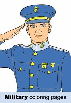 free military coloring pages army navy air force and marines - Air Force Coloring Pages Kids
