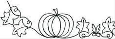 """Pumpkin Border 5"""""""
