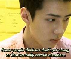 you tell them, sehun! (1/4)