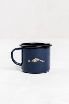 Atlantic Enamel Steel Mug