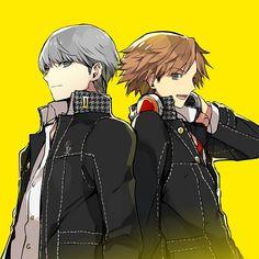 Yu and Yosuke