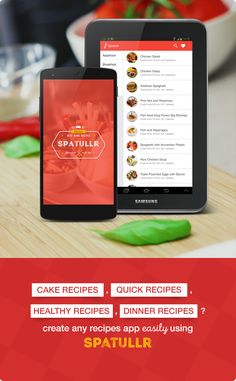 Buy Spatullr: Recipes App for Android by pongodev on CodeCanyon. What's new in Spatullr (Updated November Build in latest Android Studio Support Marshmallow . Quick Healthy Meals, Quick Recipes, Healthy Dinner Recipes, Cake Recipes, Chicken Satay, Chicken Soup, Mobile App Templates, Android Studio, November 12th
