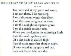 Beautiful, one of my favorite poems. Walt Whitman