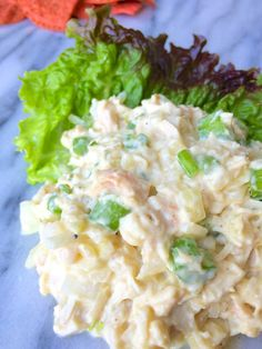 Lightened Chicken Salad