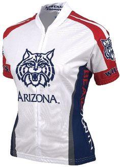87201ecb3 NCAA Women s Adrenaline Promotions Arizona Wildcats Cycling Jersey