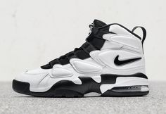The Black And White Nike Air Max 2 Uptempo Releases August