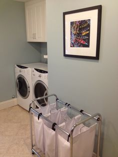 My favorite room in the house is. my laundry room! Laundry Room, Washing Machine, Home Appliances, My Favorite Things, Storage, House, Decor, Style, House Appliances