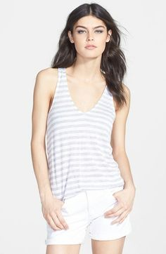 this stripe tank is fun for every day in the summer
