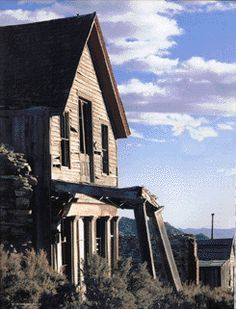 Nevada Ghost Towns- Over 600 Ghost Towns' Sites in Nevada.