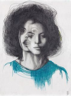 IBEYI _ GOSTS Pencil on paper
