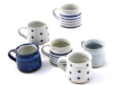 Fair Trade Earthenware Mug - Various Patterns: Slip glazed earthenware mugs that are just the right size to make sure your coffee doesn't get cold whilst you read the papers!